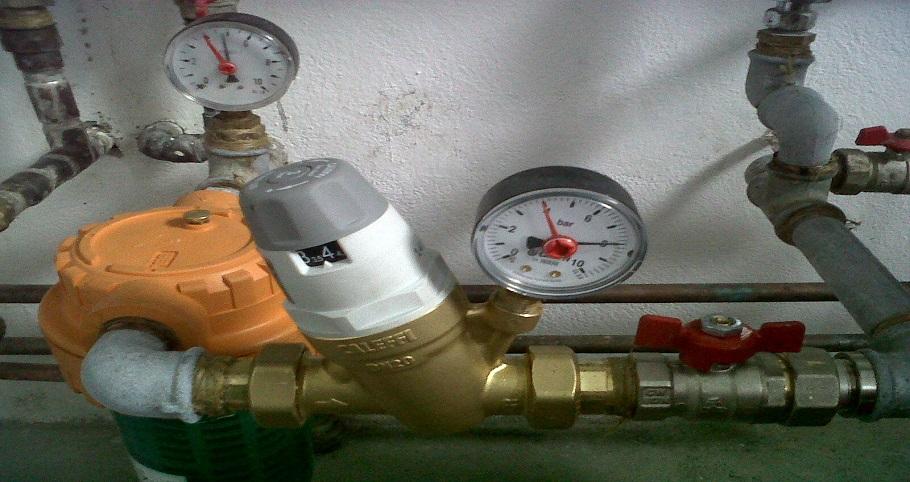 Ce probleme pot aparea in lipsa unui reductor presiune apa de 3 pe 4?