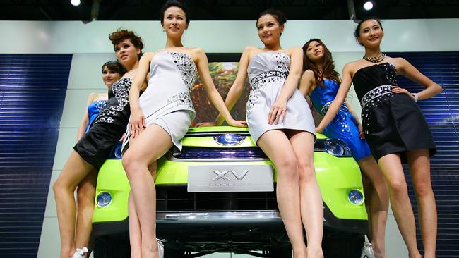 Salonul auto de la Shanghai